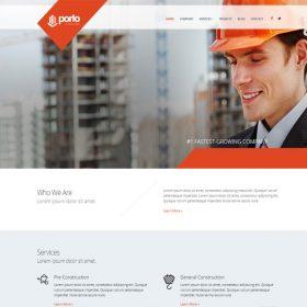 Mẫu web công ty