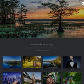 Mẫu web studio, chụp ảnh