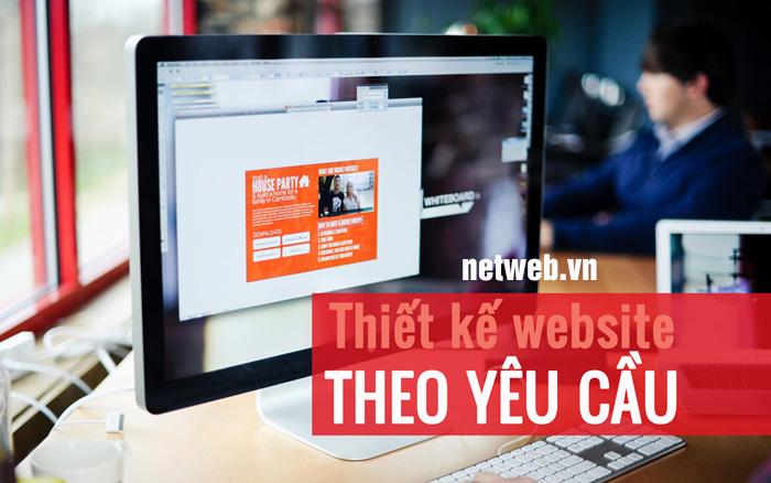 Thiết kế web theo yêu chuyên nghiệp chuẩn seo