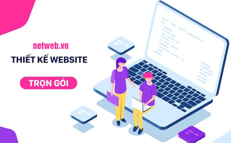 Dịch vụ thiết kế web trọn gói chuyên nghiệp – chuẩn seo