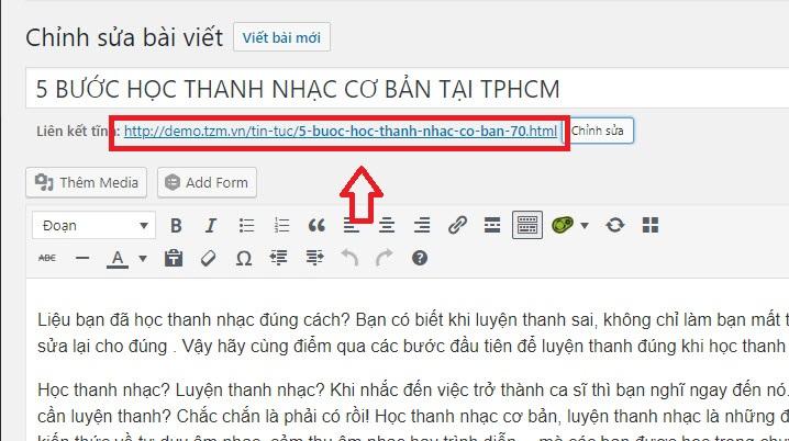 Hướng dẫn chuyển url từ web cũ qua web wordpress mới để giữ thứ hạng seo