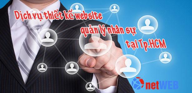 Thiết kế website quản lý nhân sự tại Tp.HCM