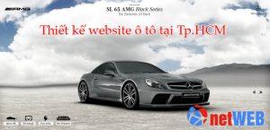 Dịch vụ thiết kế website ô tô tại Tp.HCM
