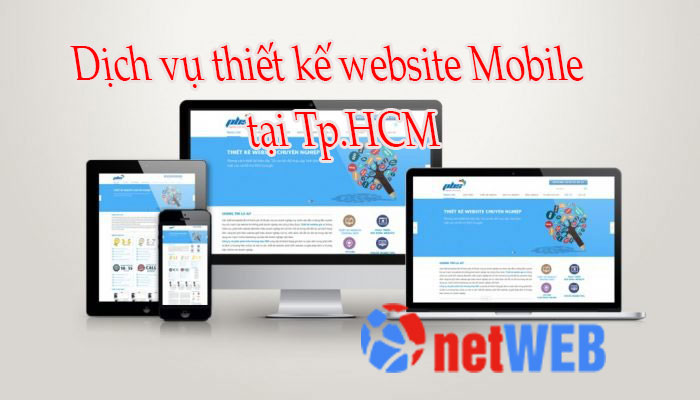 Dịch vụ thiết kế website Mobile