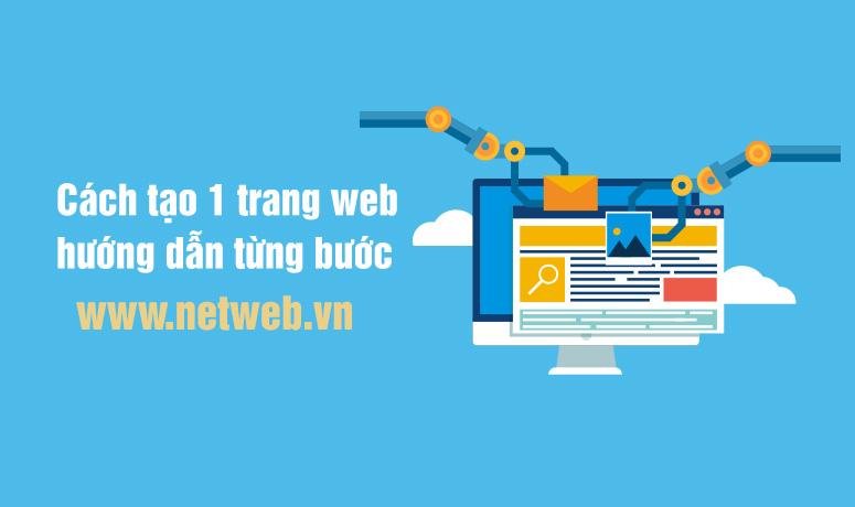 Cách tạo 1 trang web hướng dẫn chi tiết từng bước (2021)