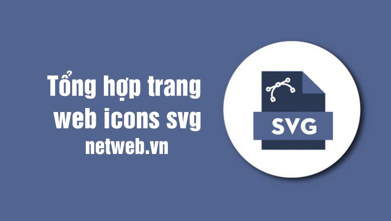 Tổng hợp trang web icons svg