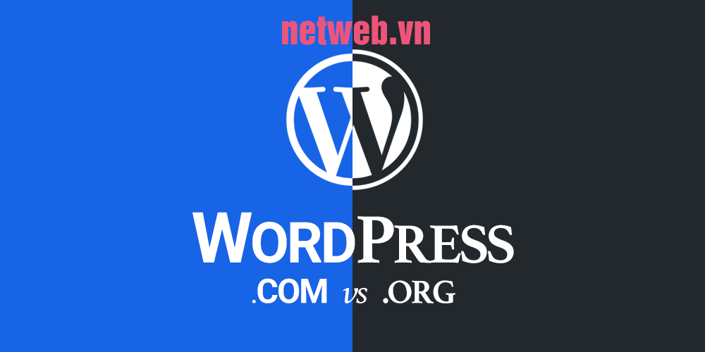 Sự khác nhau giữa WordPress.com và WordPress.org